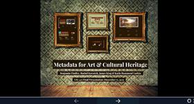 Metadata presentation